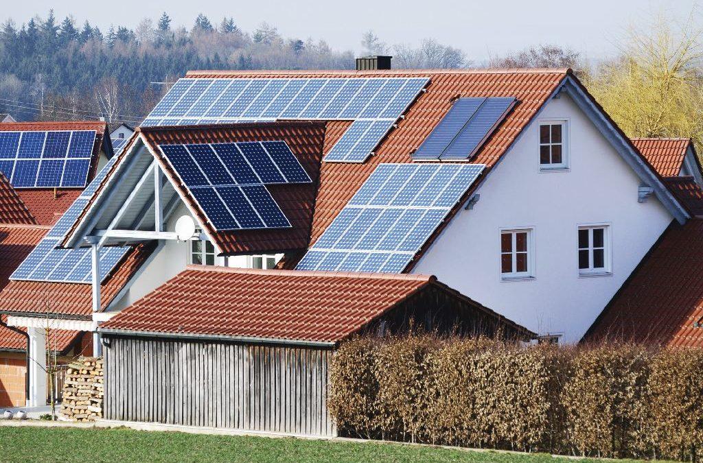 Solarkollektoren für Mehrfamilienhäuser